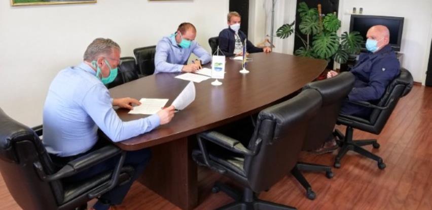 """Nastavljaju se radovi na objektu """"Opće gimnazije"""" u Bosanskoj Krupi"""