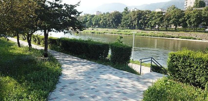 Nova pješačka staza u parku Kamberovića polje