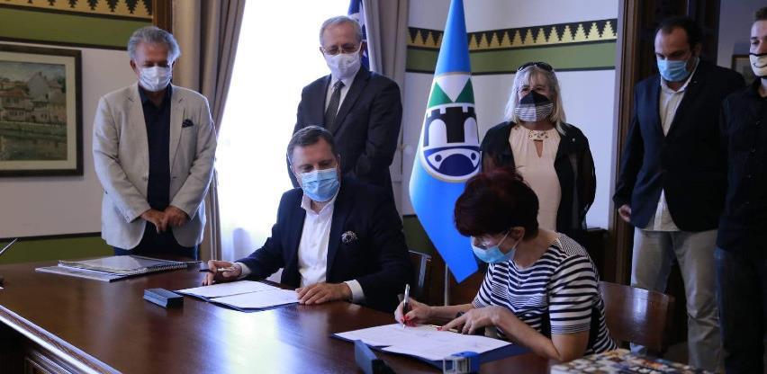 Grad Sarajevo potpisao ugovore s VKBI, HNV i SGV-om