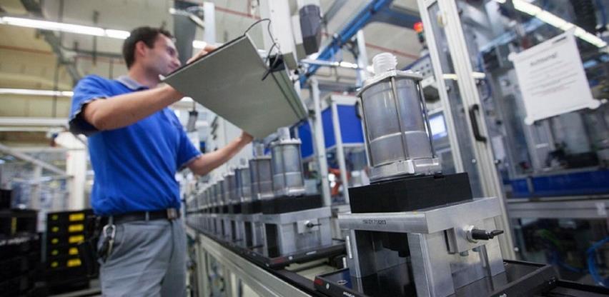 Ukupna desezonirana industrijska proizvodnja BiH u avgustu manja za 1,4 odsto