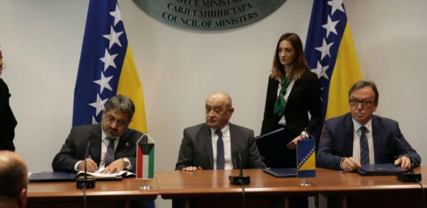 Potpisan ugovor o zajmu s Kuvajtskim razvojnim fondom za Koridor Vc