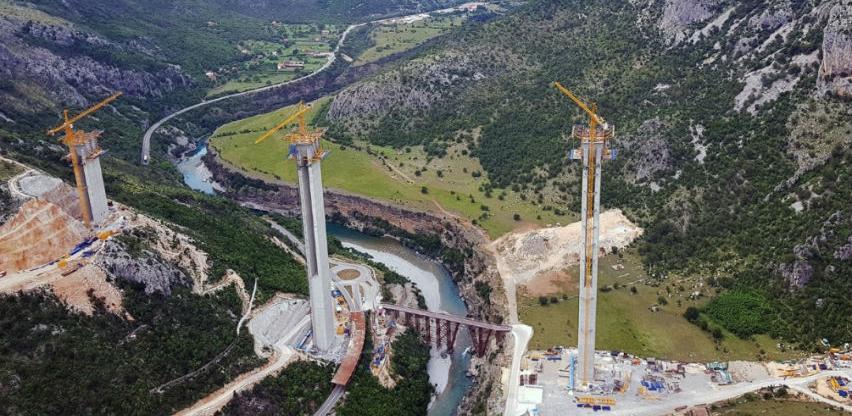 Investicija od 89,6 miliona eura: Most u Crnoj Gori će bit najviši u ex-YU