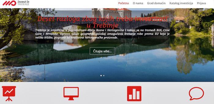Uskoro web sajt sa predstavljanjem razvojnih potencijala Trebinja