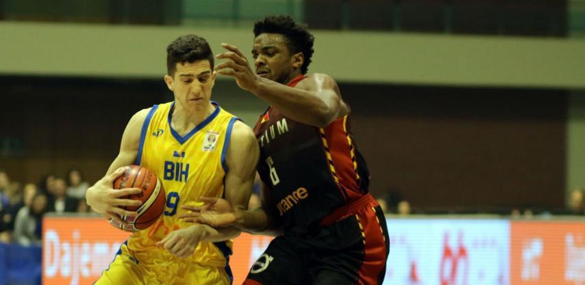 Košarkaši BiH pobijedili Belgiju u Skenderiji