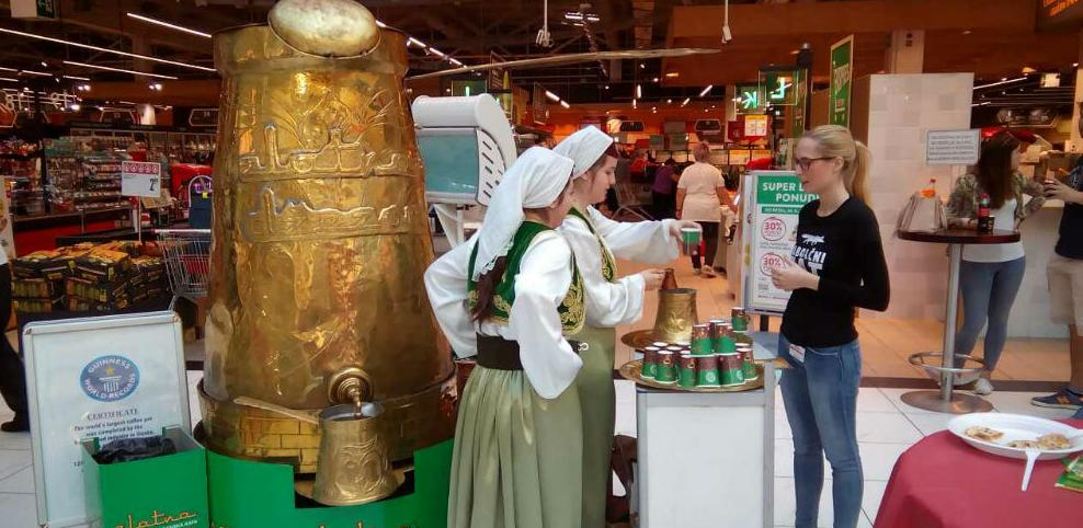 Uspjeh Zlatne džezve na tržištu Slovenije