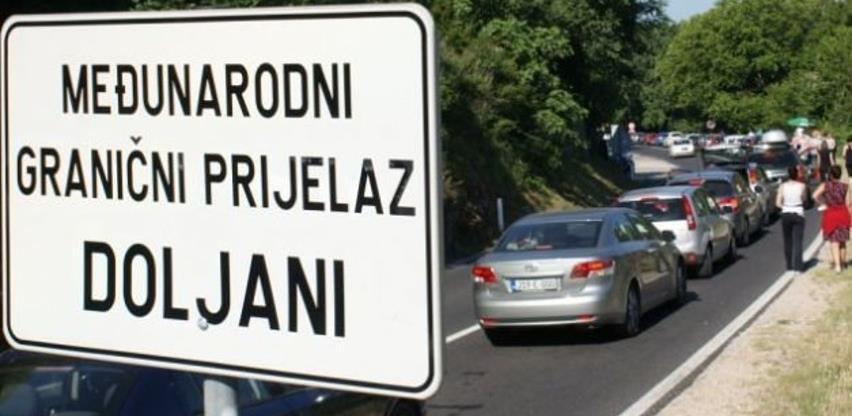 Za izgradnju i opremanje graničnih prelaza Osoje i Doljani 8,4 miliona KM