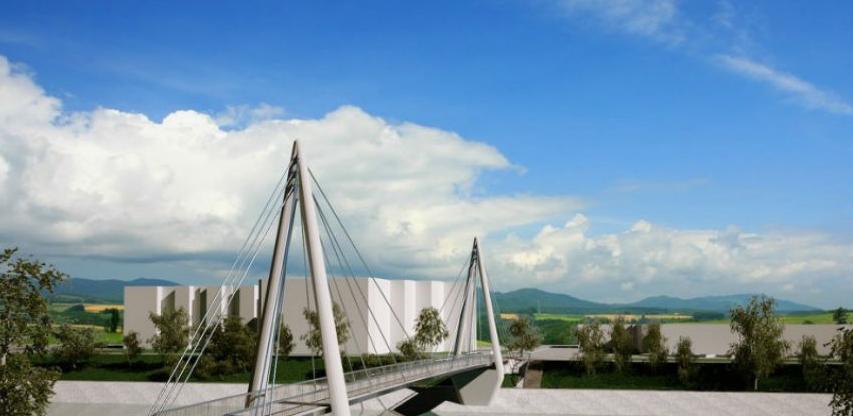 Za izgradnju pješačkog mosta u Zavidovićima dodatnih 284.000 KM