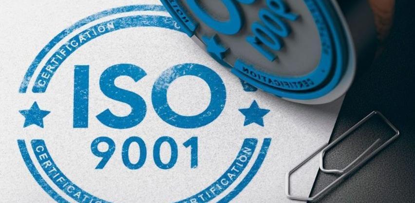 """Webinar """"Efikasna primjena ISO 9001 u malim i srednjim preduzećima"""""""