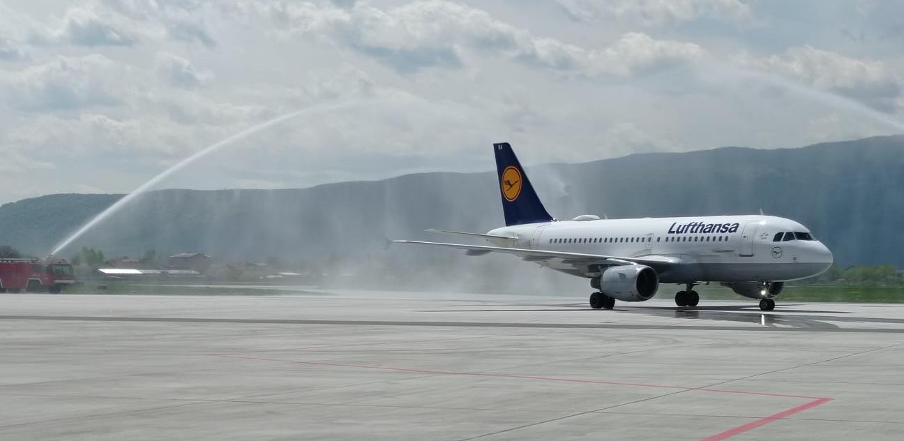 Lufthansa započela letove iz Sarajeva za Frankfurt