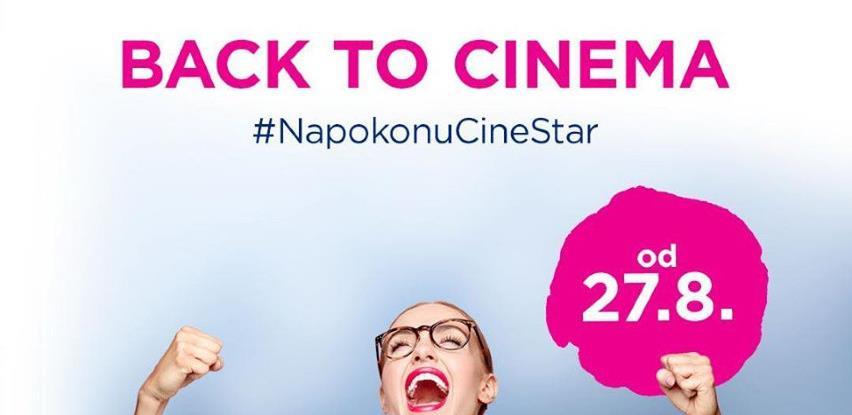 CineStar u BiH od četvrtka otvara svoja vrata
