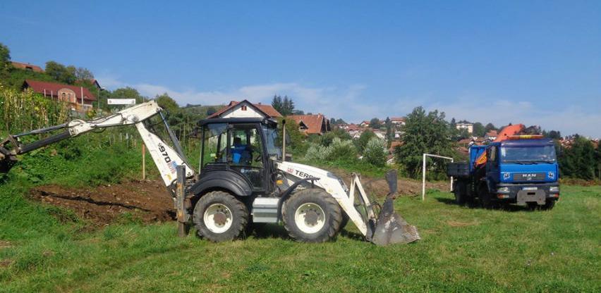 Počeli radovi na izgradnji fudbalskog stadiona sa vještačkom podlogom