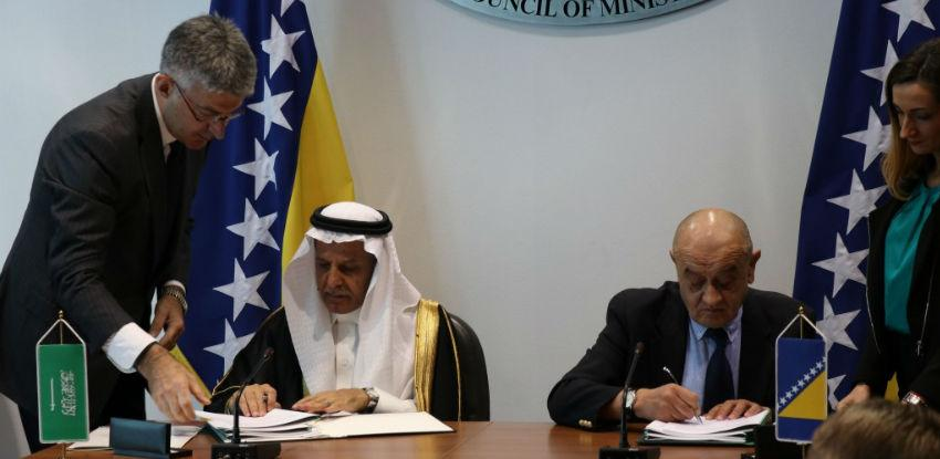Potpisana dva kreditna sporazuma sa Saudijskim fondom za razvoj
