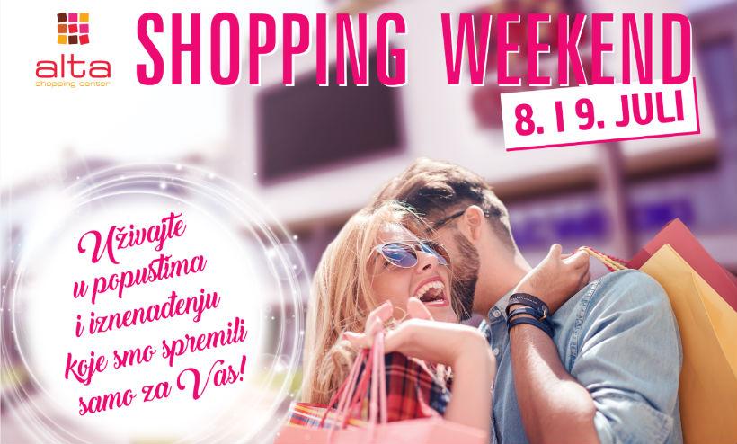 Shopping weekend u ALTA Centru