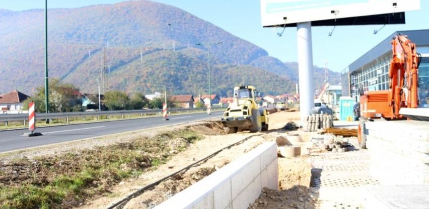 Započela izgradnja isključne trake za bolji pristup naselju Osjek