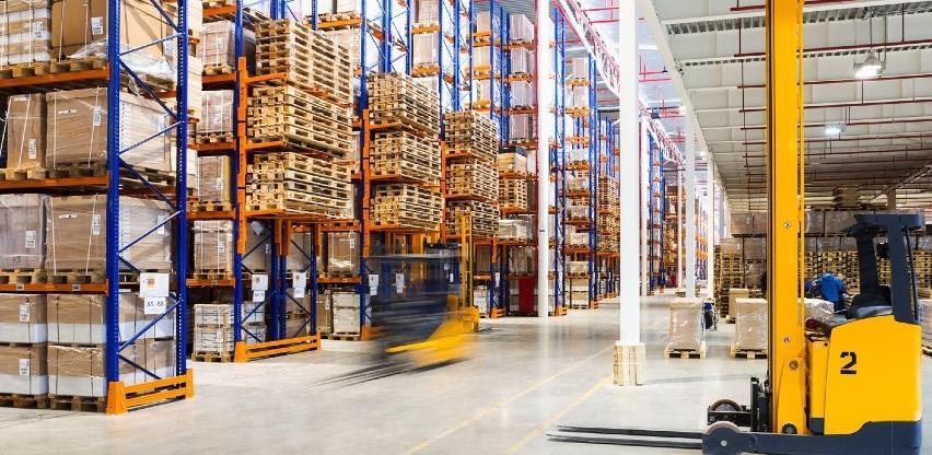 Promet transporta i skladištenja zabilježio pad od 9 posto