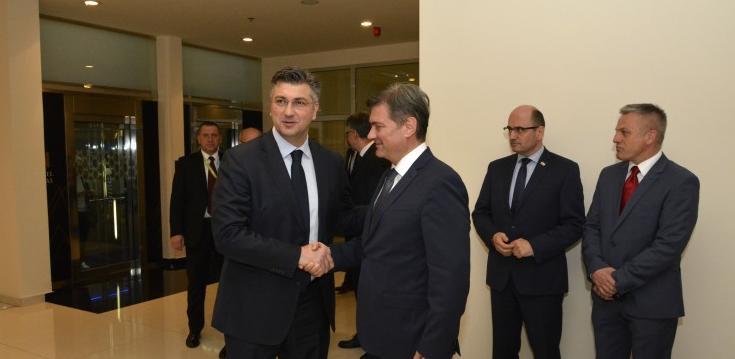 Zajednička sjednica Vijeća ministara i Vlade Hrvatske 6. jula u Sarajevu