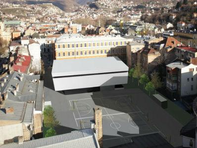 Stvoreni planski preduslovi za gradnju podzemne garaže kod Prve gimnazije