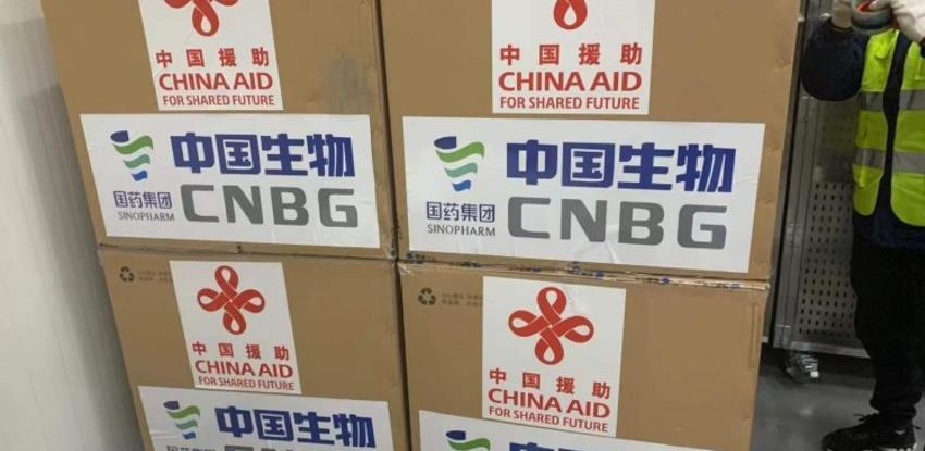Kineska donacija vakcina za BiH jutros upućena iz Pekinga