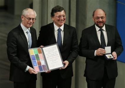 EU primila Nobelovu nagradu