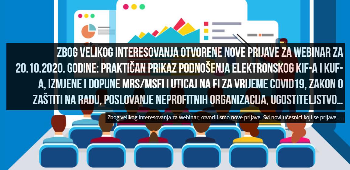 FEB: Nove prijave za kontinuiranu edukaciju računovođa i revizora