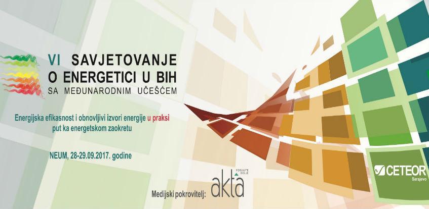 CETEOR: VI Savjetovanje o energetici u BiH