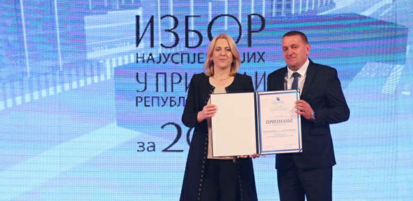 Održan izbor najuspješnijih u privredi Republike Srpske za 2018.