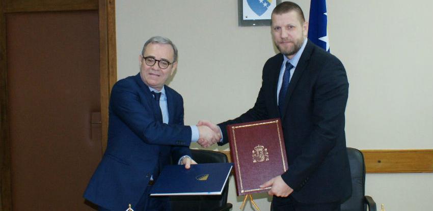 BiH i Španija potpisale sporazum o međunarodnom cestovnom prometu