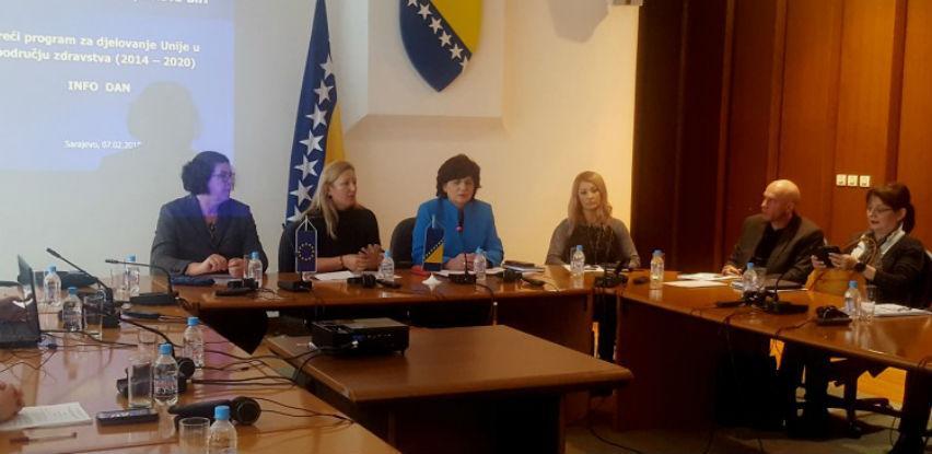 BiH može do značajnih sredstava putem projekata u oblasti zdravstva