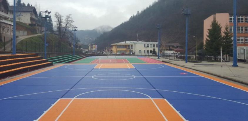 Sportsko igralište u Srebrenici u novom ruhu