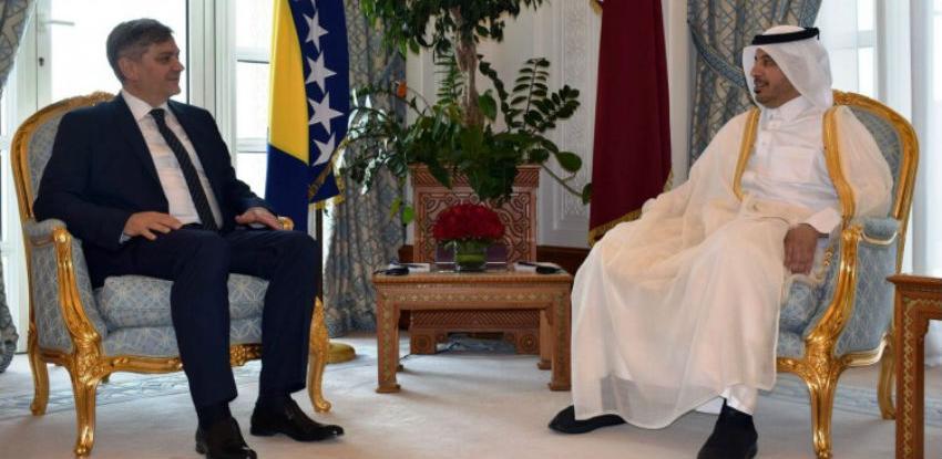 Zvizdić - Al Thani: Moguća liberalizaciji viznog režima za bh. građane