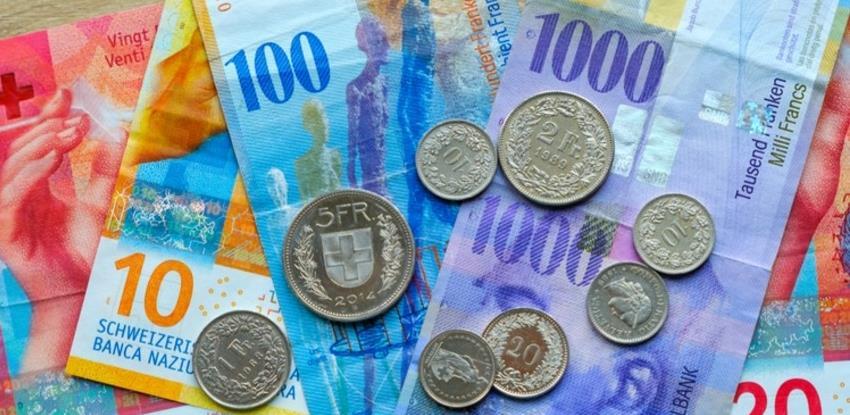 Opozvan stari švicarski franak, novčanice moguće zamijeniti poštom