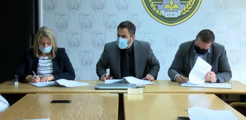 Potpisan ugovor za rekonstrukciju saobraćajnice u Ulici Vogošćanskih odreda