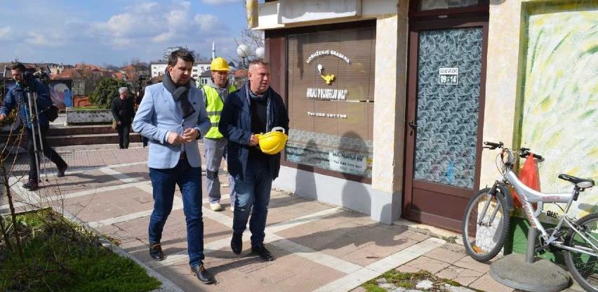 Počeli radovi na uređenju gradskog Zanatskog centra u Brčkom