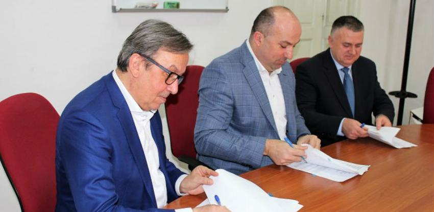 Potpisan ugovor o rehabilitaciji ceste Zvirovići - Tromeđa