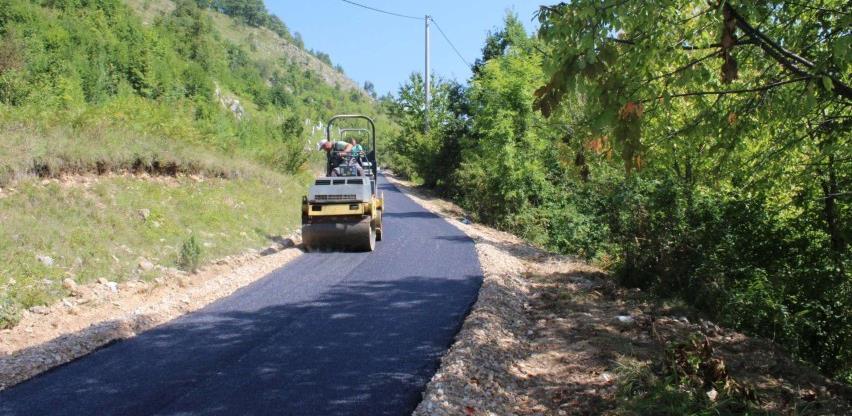 Sanacija i asfaltiranje lokalnih puteva na podrućju općine Trnovo