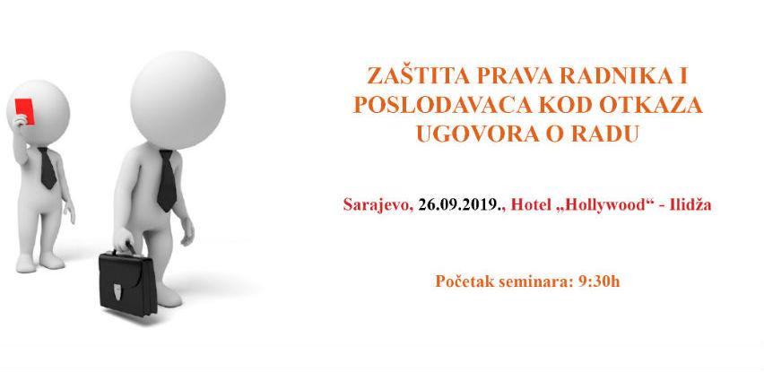 REC seminar: Zaštita prava radnika i poslodavaca kod otkaza ugovora o radu