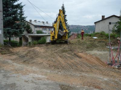 Počela izgradnja sportskog igrališta u Švrakinom selu