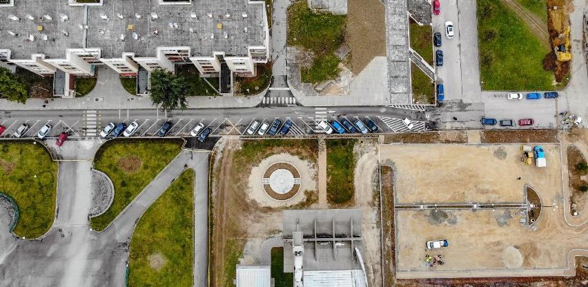 Novi parking sa 65 mjesta u ulici Lava Tolstoja u naselju Dobrinja