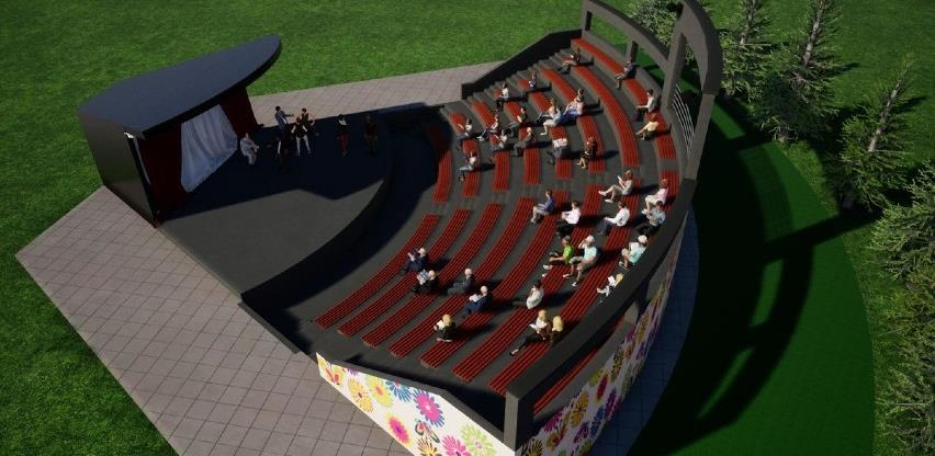 Počinje izgradnja ljetne pozornice u Živinicama (Foto)