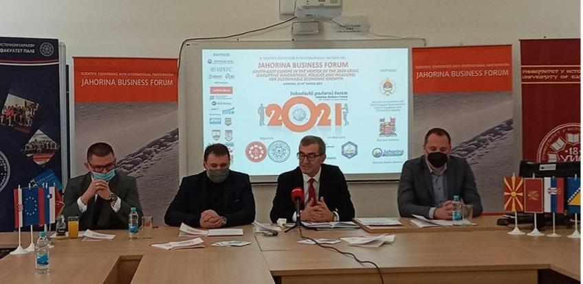 """""""Jahorinski poslovni forum"""" 25. i 26. marta u online formatu"""