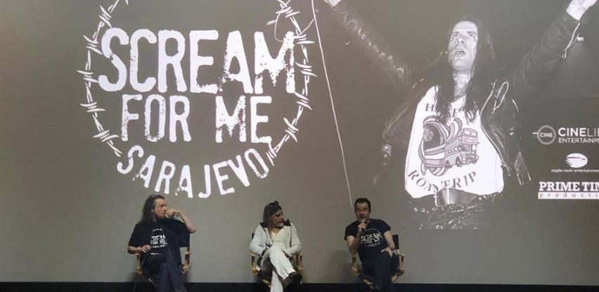 """Premijera filma """"Scream For Me Sarajevo"""" i na BBC-u: """"Golemo je"""""""