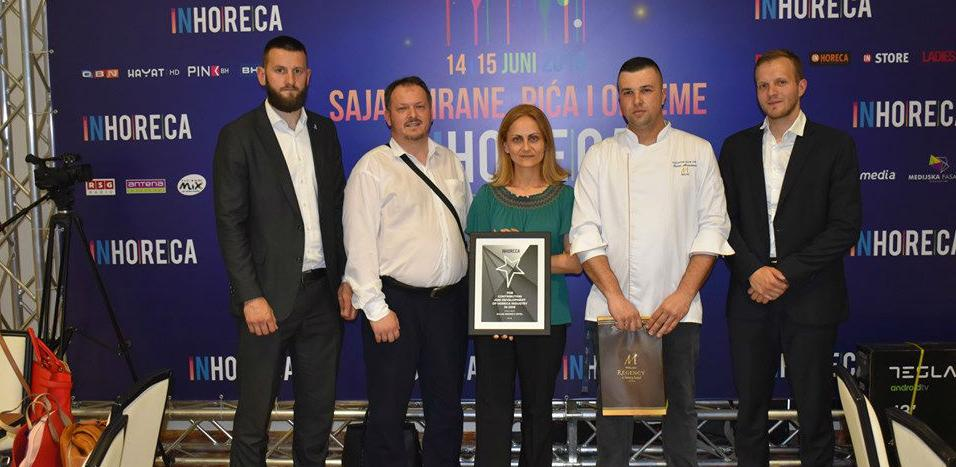 Malak Regency Hotel nagrađen za razvoju HoReCa industrije u BiH