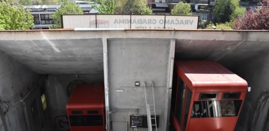 Postavljena druga kabina kosog lifta na Ciglanama