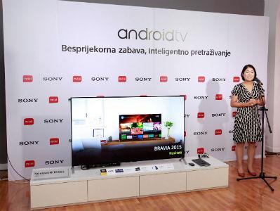 Kompanije Sony i m:tel predstavile najnoviju liniju Sony Android TV uređaja