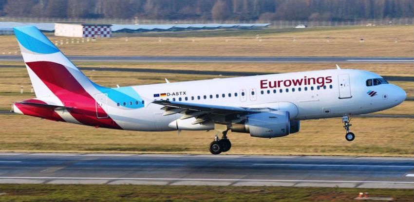 Eurowings otkazao letove za Mostar