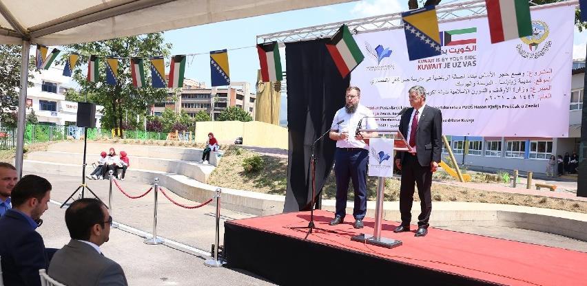 "Položen kamen temeljac za izgradnju sportsko-rekreacionog centra OŠ ""Hasan Kjafija Pruščak"""