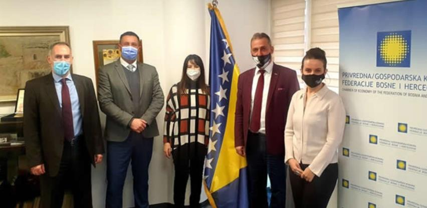 Novoimenovana direktorica Italijanske agencije ICE posjetila komore