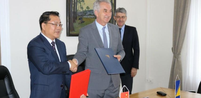 Ministar Šarović potpisao Memorandum sa kineskom korporacijom Sinosure