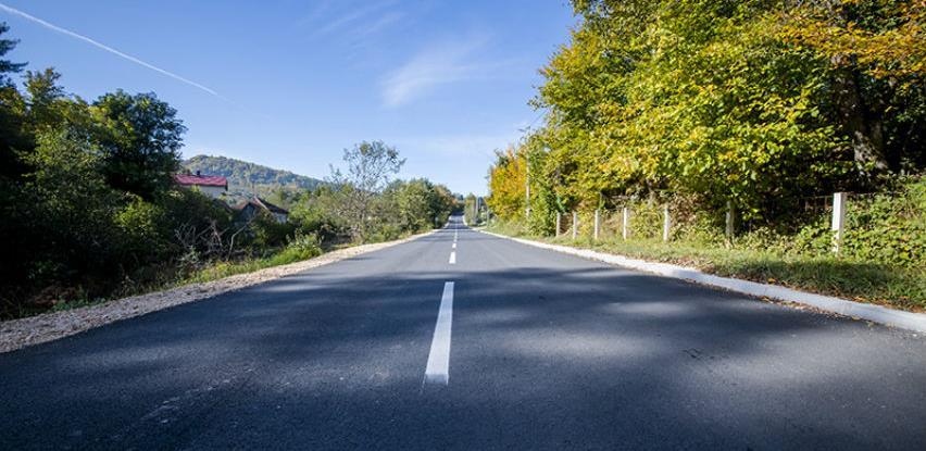 Na području općine Hadžići rekonstruisan put Resnik-Kazina Bara