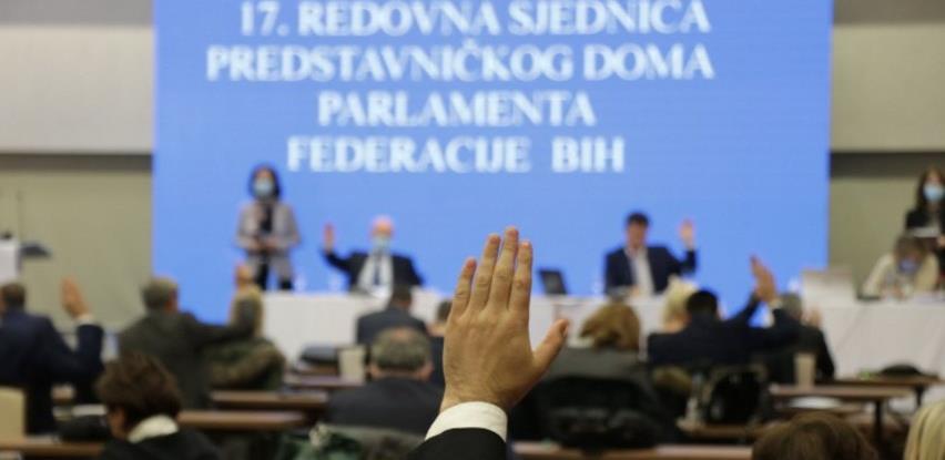 Predstavnički dom prihvatio Prijedlog budžeta FBiH za 2021.